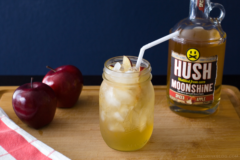 hushed caramel apple cocktail