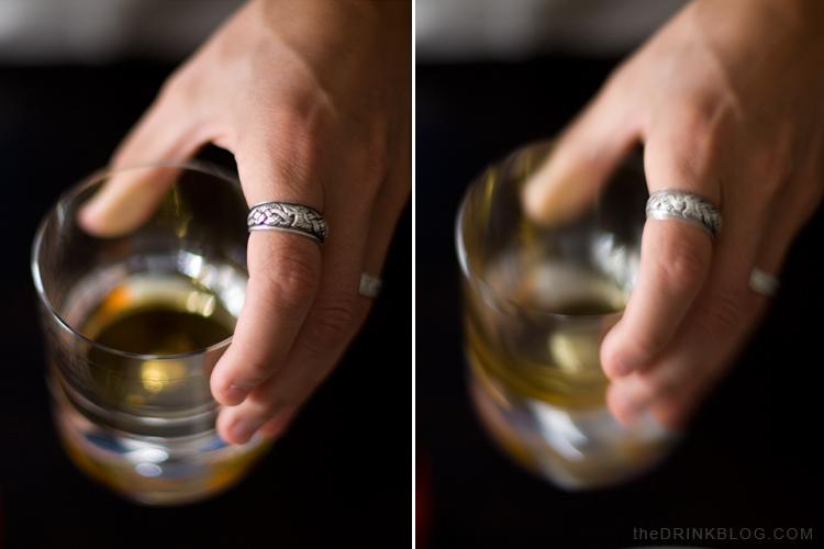 old fashioned swirl glass