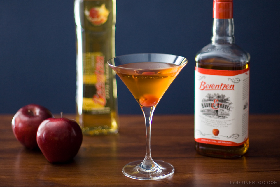 big apple cocktail featuring Berentzen Apple Liqueur