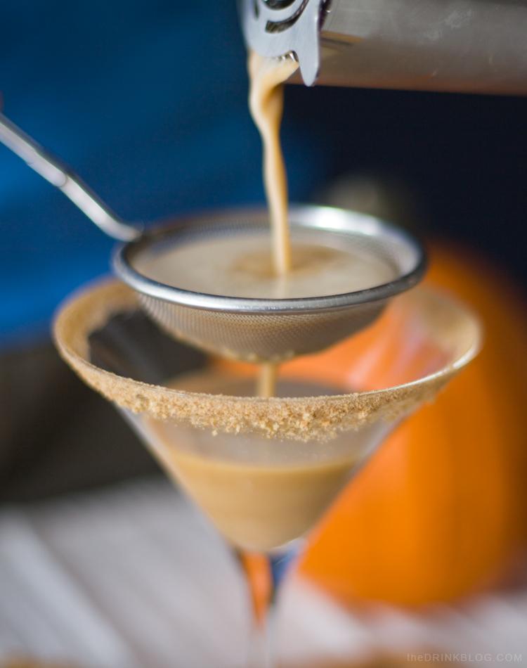 strain pumpkin martini