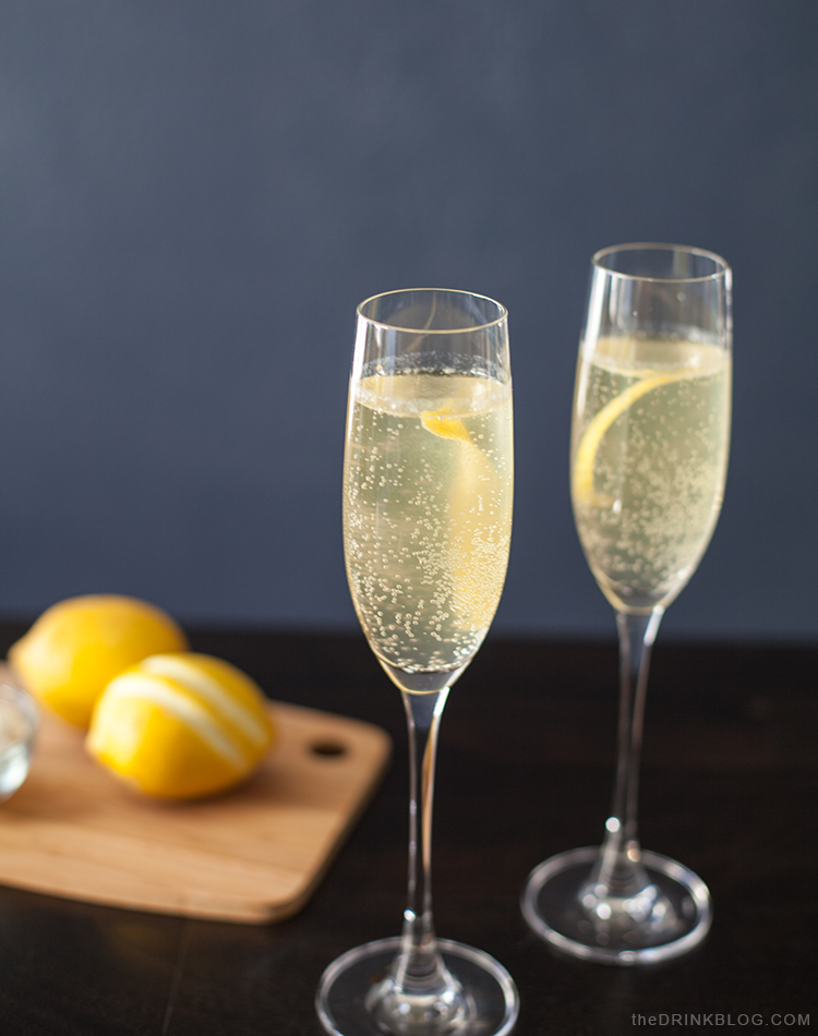 French 75: A Champagne Cocktail for Gin and Champagne Fans | The Drink ...