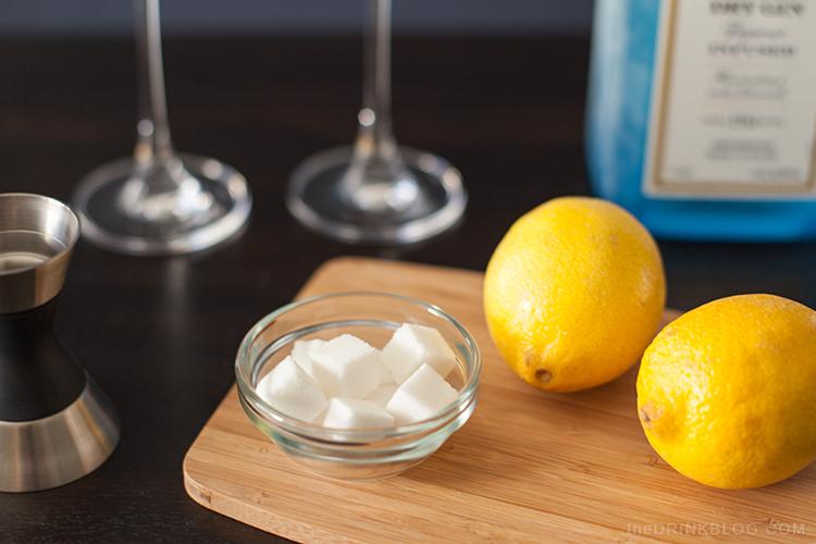 lemons and sugar cubes