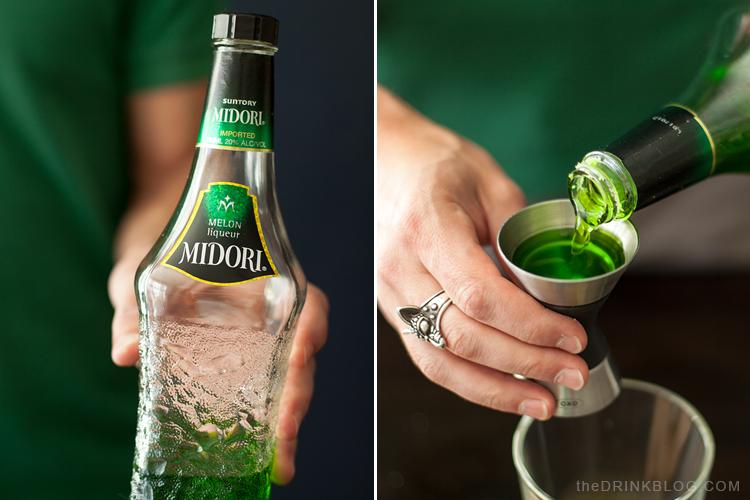 add midori to the illusion shaker