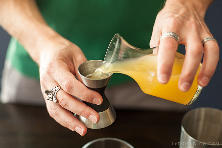 add pineapple juice to the illusion shaker