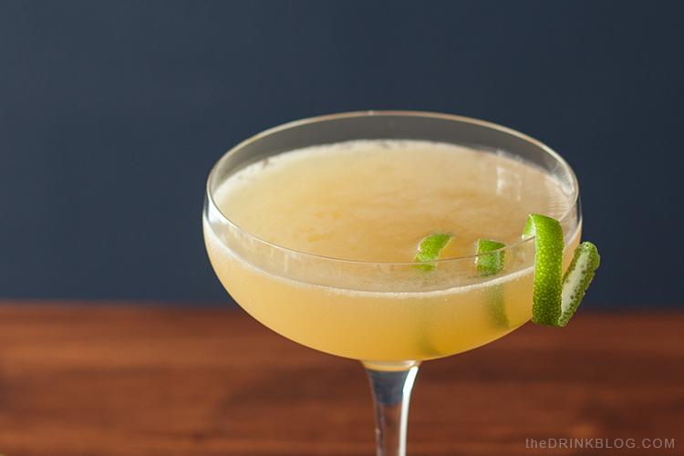 spice mai tai with lime twist