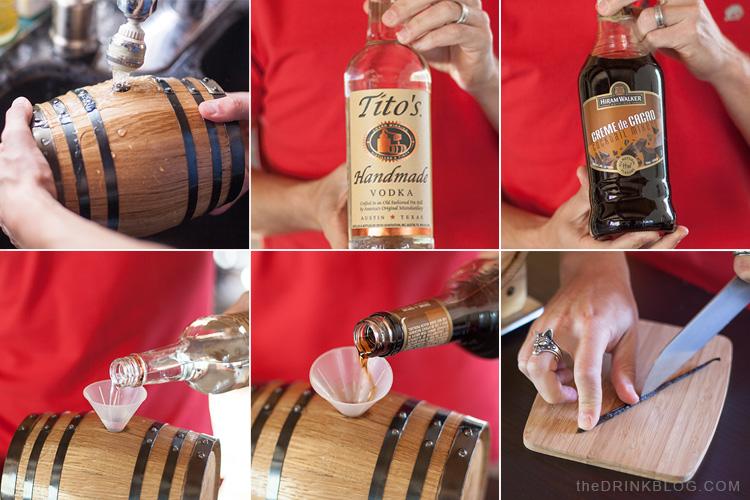 barrel aged s'more martini