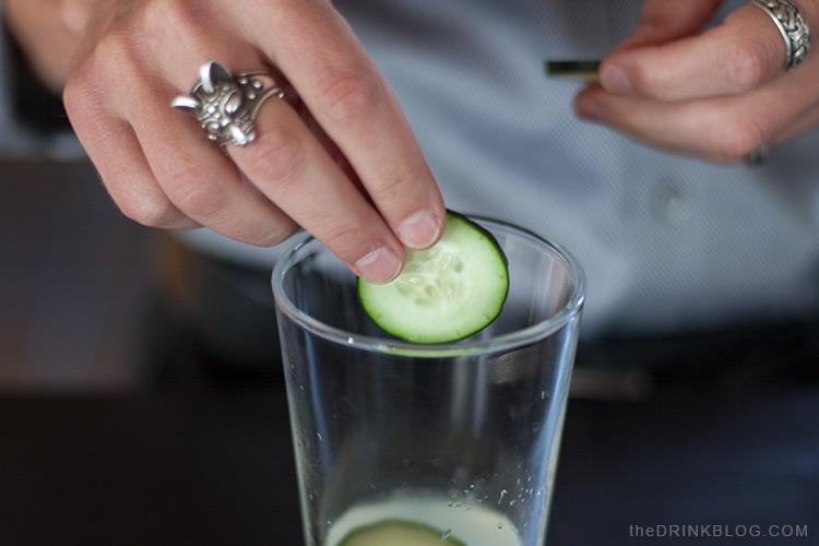 add cucumber