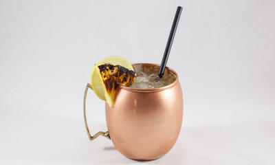 grilled pineapple moscow mule