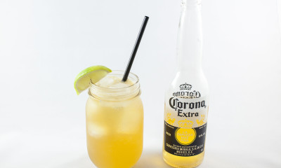 quarter miler corona cocktail