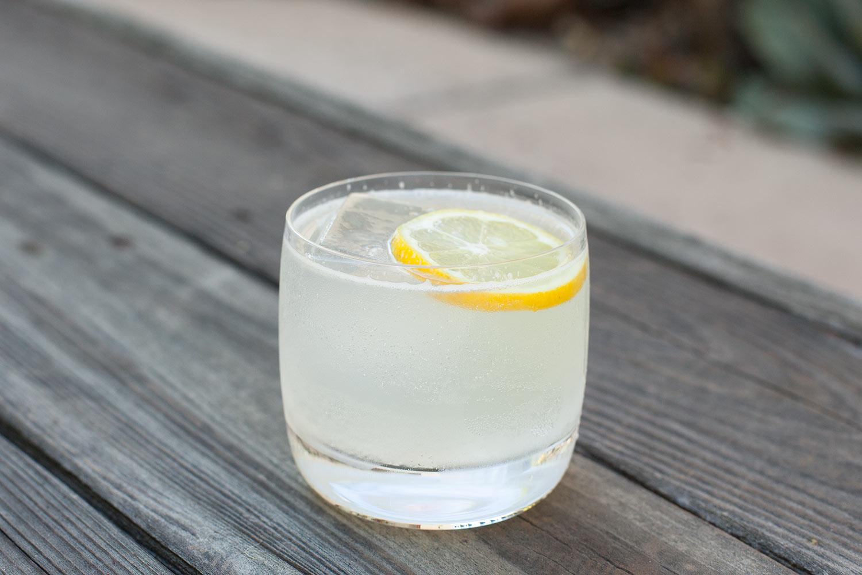 lemon ouzon spritz