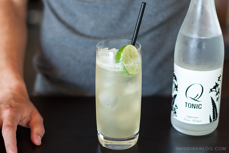 garnish with lime