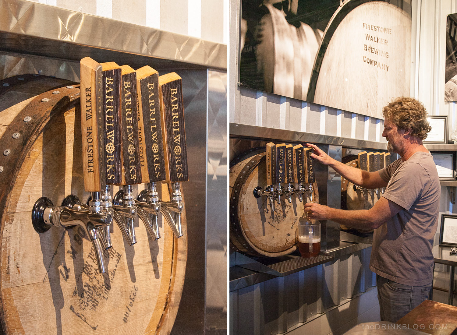beers on tap at firestone barrelworks