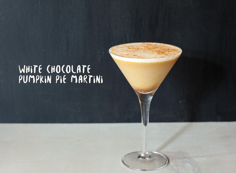 White Chocolate Pumpkin Pie Martini: Upgraded Pumpkin Pie Martini ...