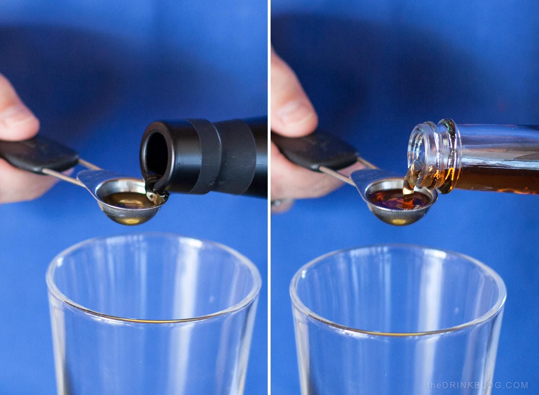measure absinthe