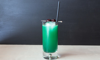 blue china cocktail