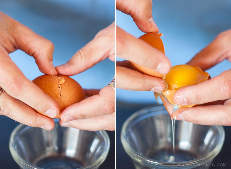 separate egg white