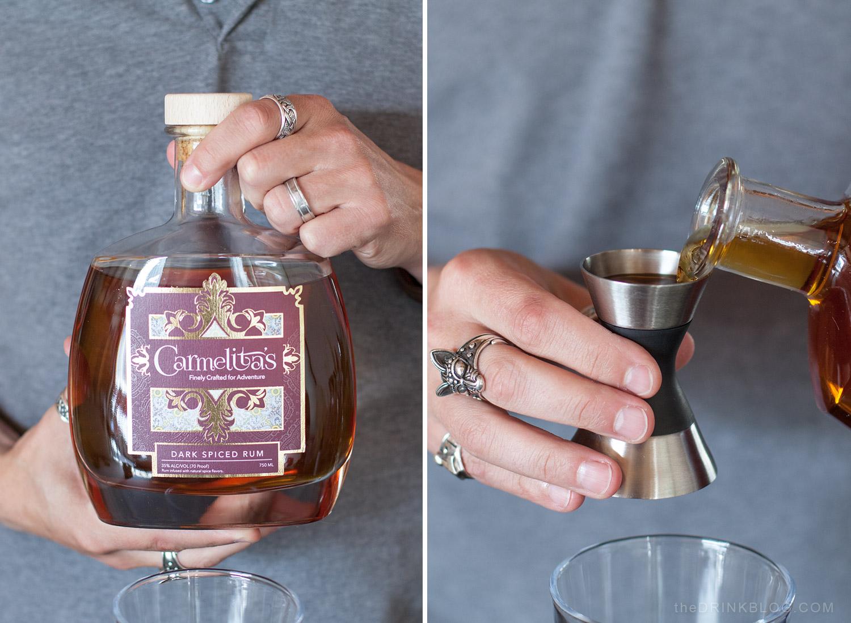 carmelitas dark spiced rum
