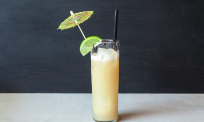 luau smoked pineapple cocktail