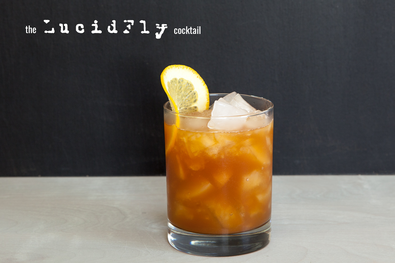 Lucid Fly cocktail
