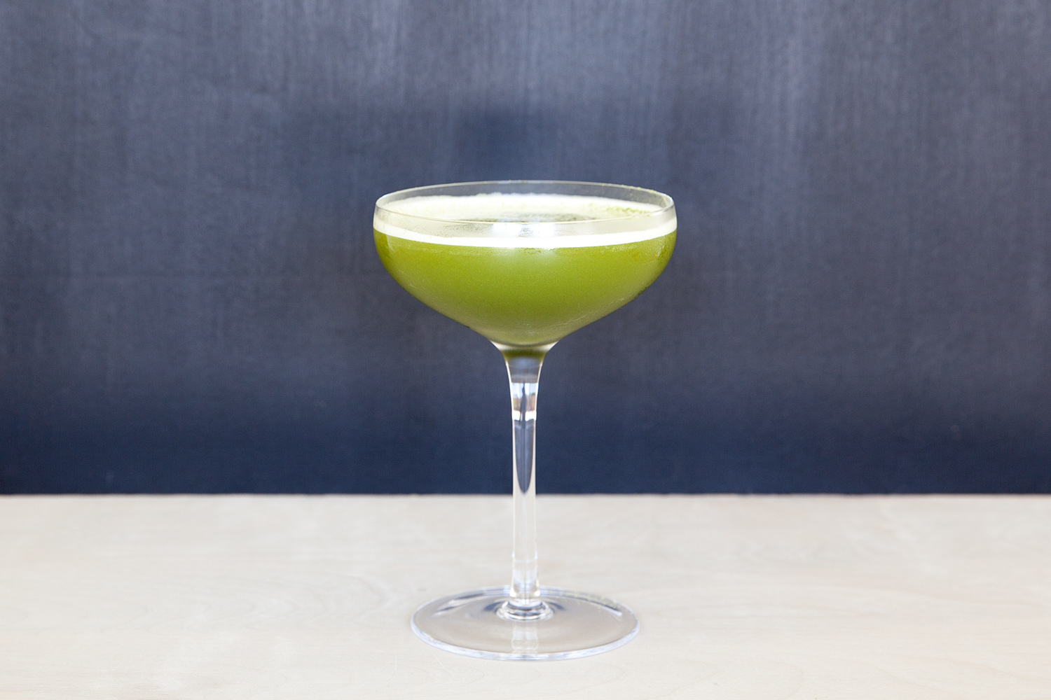 hazelnut matcha cocktail
