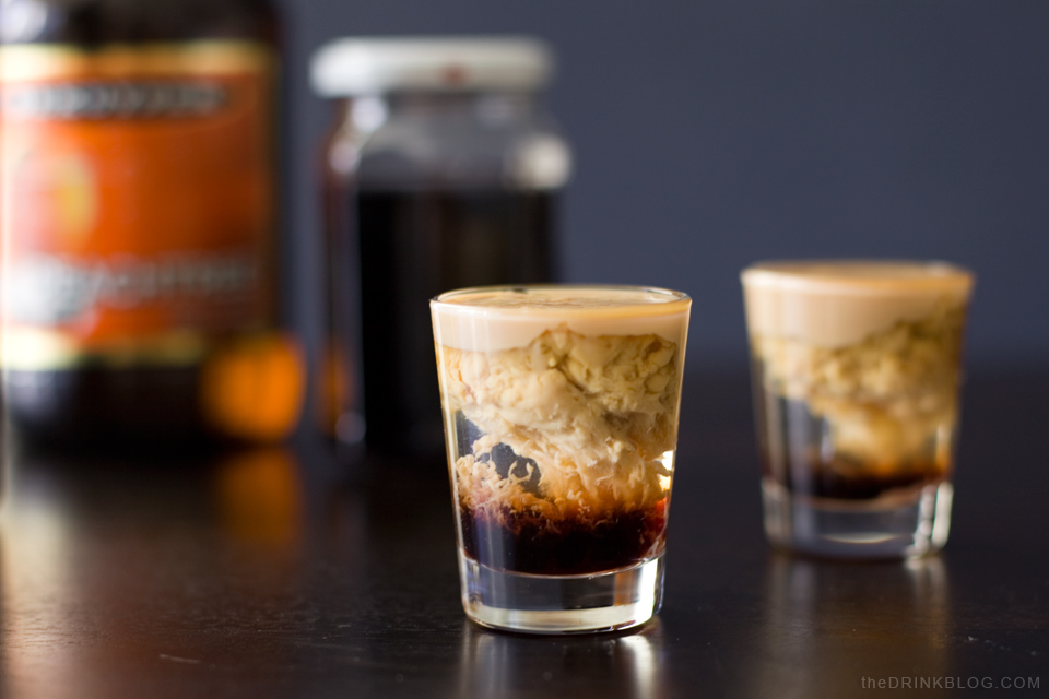 The Brain Hemorrhage A Spooky Shot For Halloween The Drink Blog